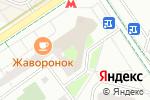 Схема проезда до компании Почтовое отделение №109341 в Москве