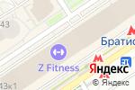 Схема проезда до компании Opera в Москве