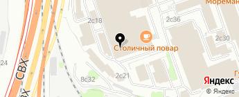 ВЕЛООЛИМП на карте Москвы