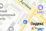Схема проезда до компании Магазин канцелярских товаров в Донецке