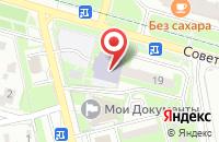 Схема проезда до компании Мипс в Домодедово