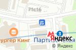 Схема проезда до компании Восточный Экспресс в Москве