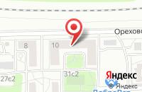 Схема проезда до компании Пк-Цемент в Москве