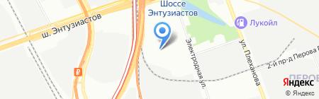 Арнок на карте Москвы