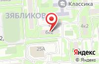 Схема проезда до компании Проджект в Москве