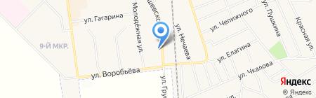 Арлекино на карте Авдеевки
