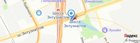 Русдорбизнес на карте Москвы