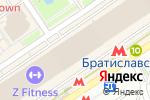 Схема проезда до компании 1001dress в Москве
