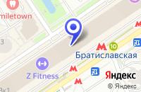 Схема проезда до компании ТФ DR. TAFFI в Москве