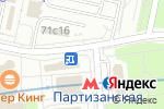 Схема проезда до компании Киоск по продаже печатной продукции в Москве