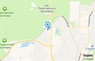 Местоположение на карте пункта техосмотра по адресу Московская обл, г Мытищи, пр-кт Олимпийский, влд 43