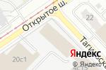 Схема проезда до компании Кафе-пекарня в Москве