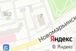 Схема проезда до компании Отдел МВД России по району Марьинский Парк г. Москвы в Москве