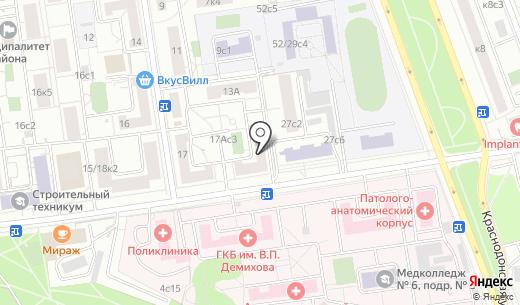 Святая Гора. Схема проезда в Москве