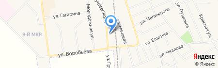 Автомастерская на карте Авдеевки