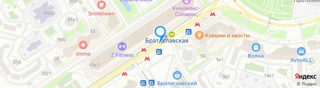 метро Братиславская