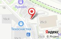 Схема проезда до компании Беркама в Москве