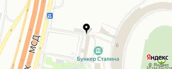Denkos на карте Москвы