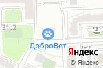 Схема проезда до компании ДоброВет в Москве