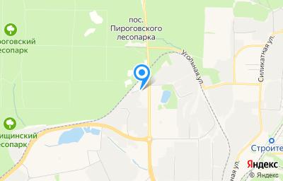 Местоположение на карте пункта техосмотра по адресу Московская обл, г Мытищи, пр-кт Олимпийский, влд 43 стр 1