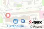 Схема проезда до компании Безопасность в Москве