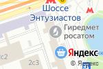 Схема проезда до компании АвиСофт в Москве