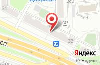 Схема проезда до компании ПрессАрт в Москве