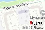 Схема проезда до компании Детский сад №2324 в Москве