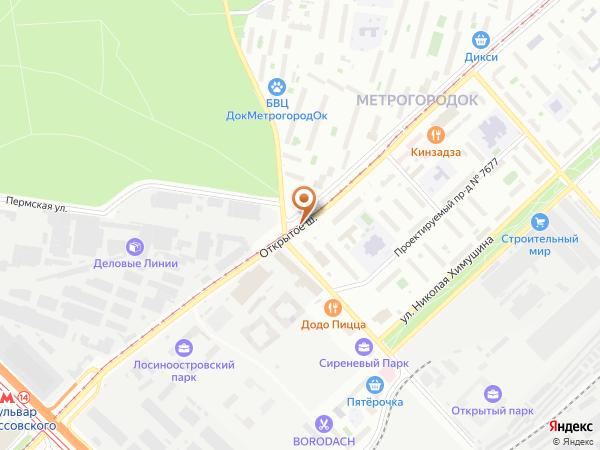 Остановка «Тагильская ул.», Открытое шоссе (3945) (Москва)