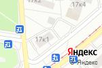 Схема проезда до компании Социальная в Москве