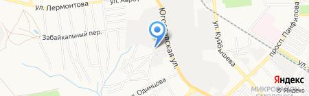 Винтекс на карте Донецка