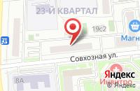 Схема проезда до компании СТЕНД ДВ в Ильинке