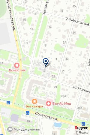 АВАРИЙНО-ДИСПЕТЧЕРСКАЯ СЛУЖБА ДОМОДЕДОВСКАЯ ЭЛЕКТРОСЕТЬ на карте Домодедово