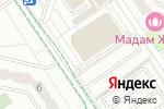 Схема проезда до компании Бон-Вин в Москве