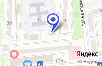 Схема проезда до компании ПТФ РОДОНИТ-РЕСУРС в Москве