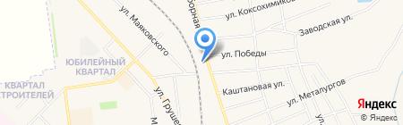 Семафор на карте Авдеевки