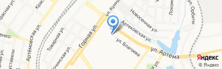 Мрія на карте Донецка