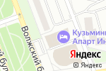 Схема проезда до компании Вершина в Москве