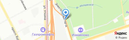 ЭТМ на карте Москвы