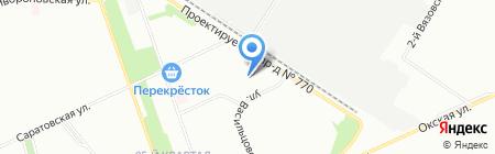 АИСТ-Плюс на карте Москвы