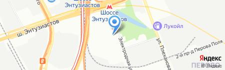 3R на карте Москвы