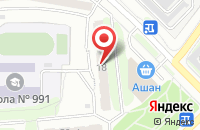 Схема проезда до компании Офис-Сервис в Москве
