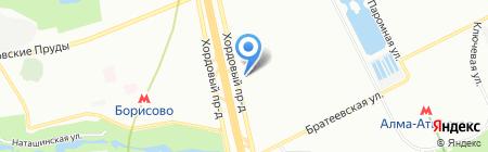 МВС на карте Москвы