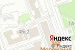 Схема проезда до компании Товары Народного Потребления в Москве