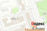 Схема проезда до компании a-zHouse в Москве