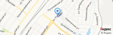 Дверные решения на карте Донецка