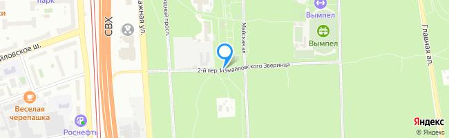 переулок Измайловского Зверинца 2-й