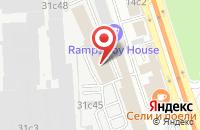 Схема проезда до компании Мицубиси Моторс Клуб в Москве