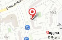 Схема проезда до компании Фактор Рисерч Групп в Москве
