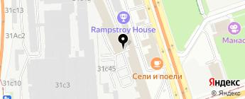 frontcam.ru на карте Москвы
